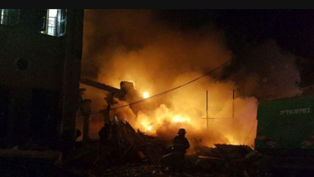 """Ισραήλ: """"Βροχή"""" από ρουκέτες εκτόξευσε η Χαμάς - Μία νεκρή στο Τελ Αβίβ"""