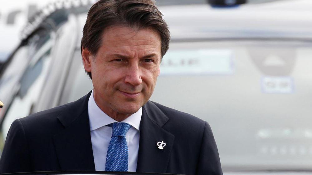 Κόντε: Χρειαζόμαστε δημοσιονομική επιείκεια και ειδικό καθεστώς για τον ιταλικό Νότο από την ΕΕ