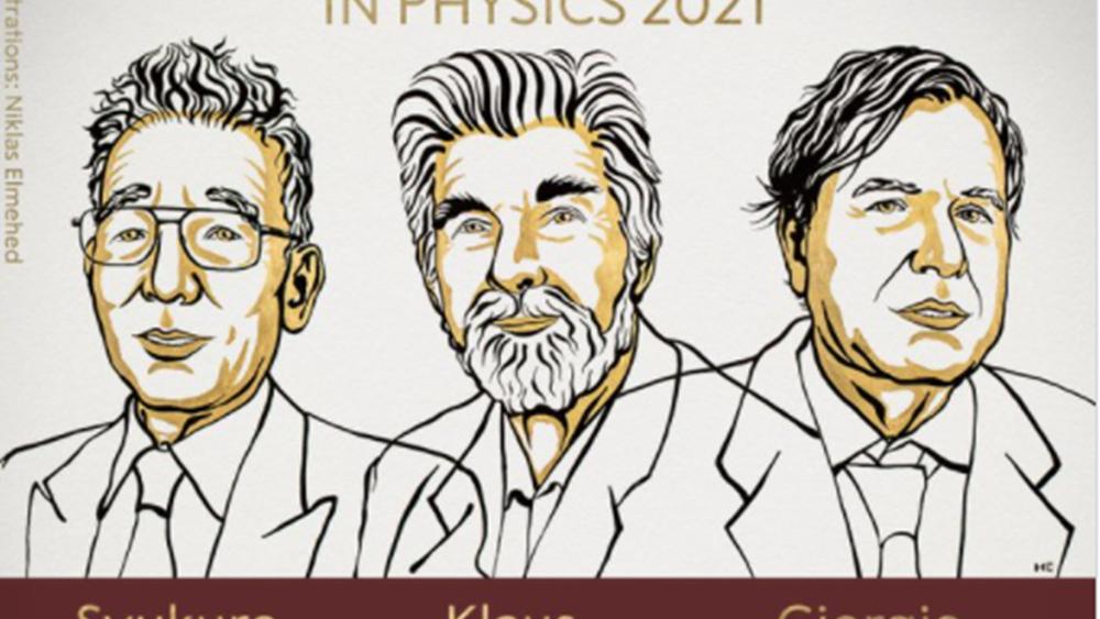 Στους επιστήμονες Μανάμπε, Χάσελμαν και Παρίζι το Νόμπελ Φυσικής 2021