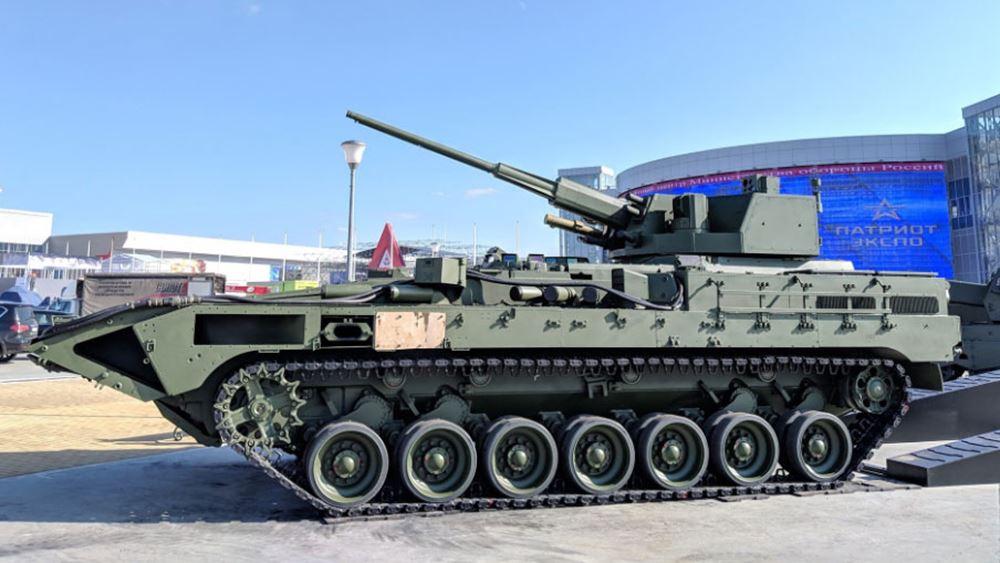 Ρωσία: Προκαταρκτικά τεστ δοκιμών για νέο άρμα και βαρέως τεθωρακισμένο όχημα πεζικού