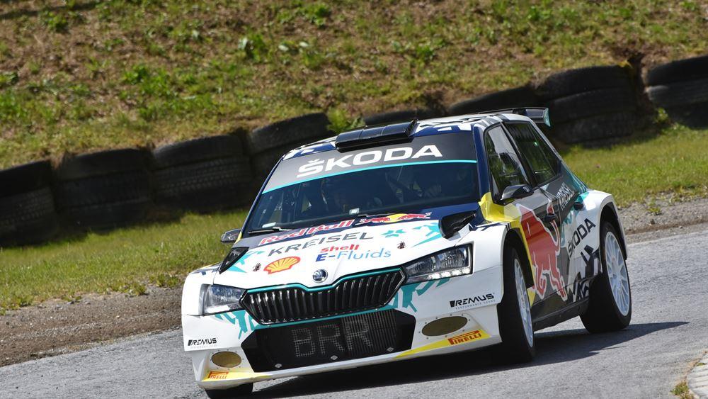 Skoda RE-X1 Kreisel: H ηλεκτρική Fabia Rally2 evo