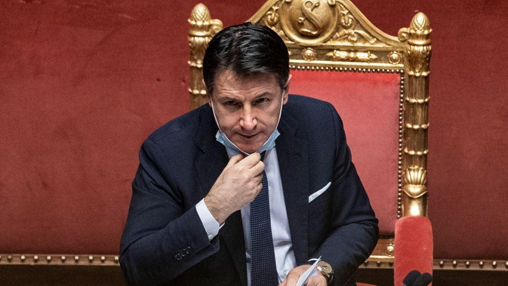 Ιταλία: Η Γερουσία έδωσε ψήφο εμπιστοσύνης στην κυβέρνηση του Τζουζέπε Κόντε