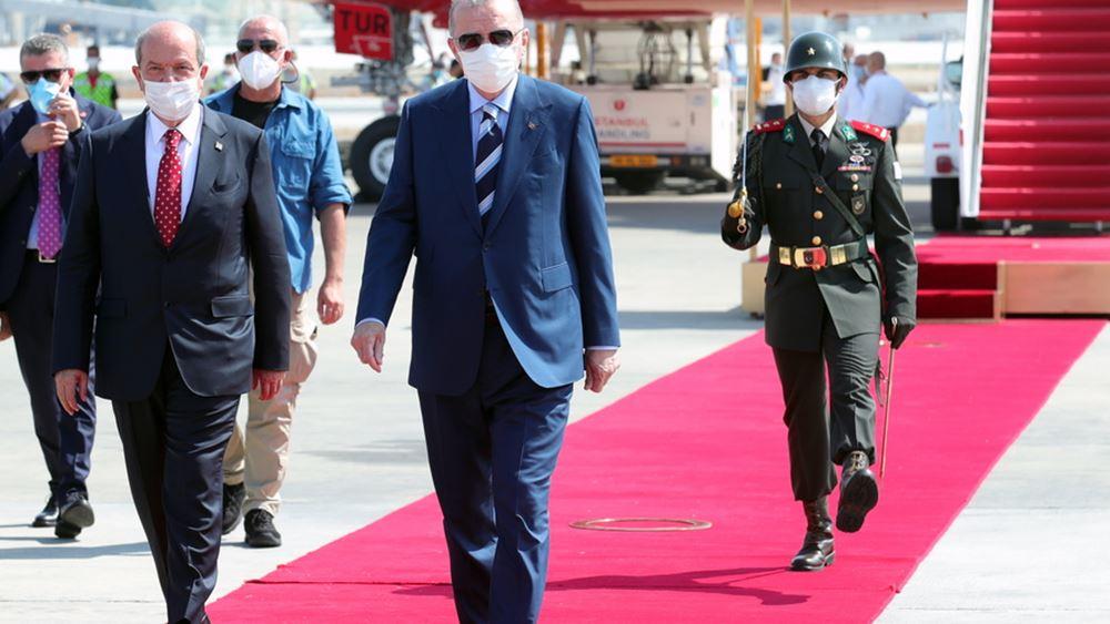 Νέο «προεδρικό» στον κατεχόμενο Αγ. Δομέτιο, τα 'καλά νέα' που είχε υποσχεθεί ο Ερντογάν στους Τουρκοκύπριους