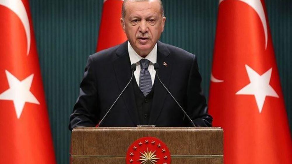 Ερντογάν: Η αστάθεια της λίρας είναι προσωρινή