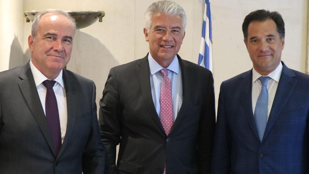 Συνάντηση Άδ. Γεωργιάδη με τον νέο Πρέσβη της Γερμανίας στην Ελλάδα