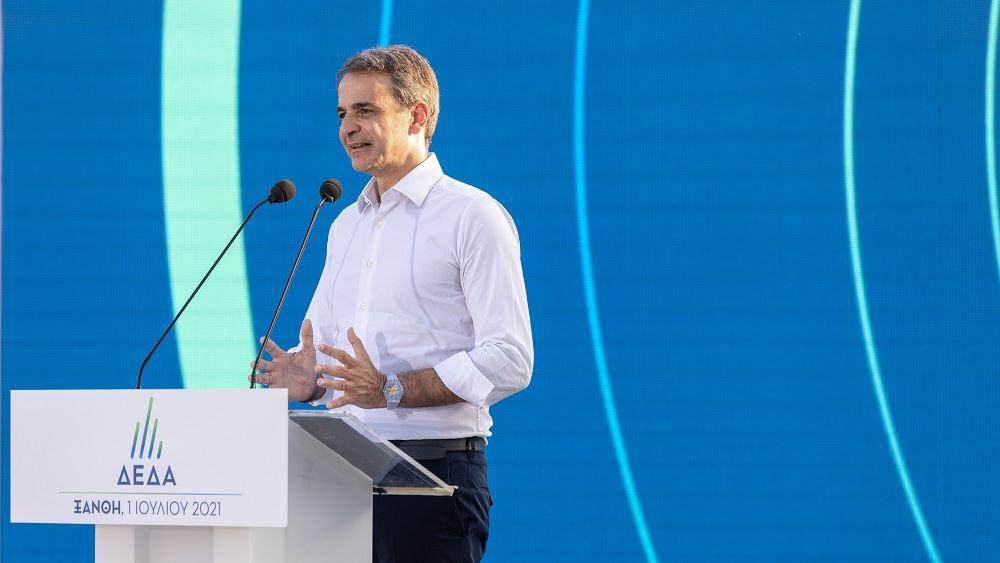 Παρουσία του πρωθυπουργού τα εγκαίνια επέκτασης του δικτύου διανομής φυσικού αερίου στην Περιφέρεια ΑΜΘ