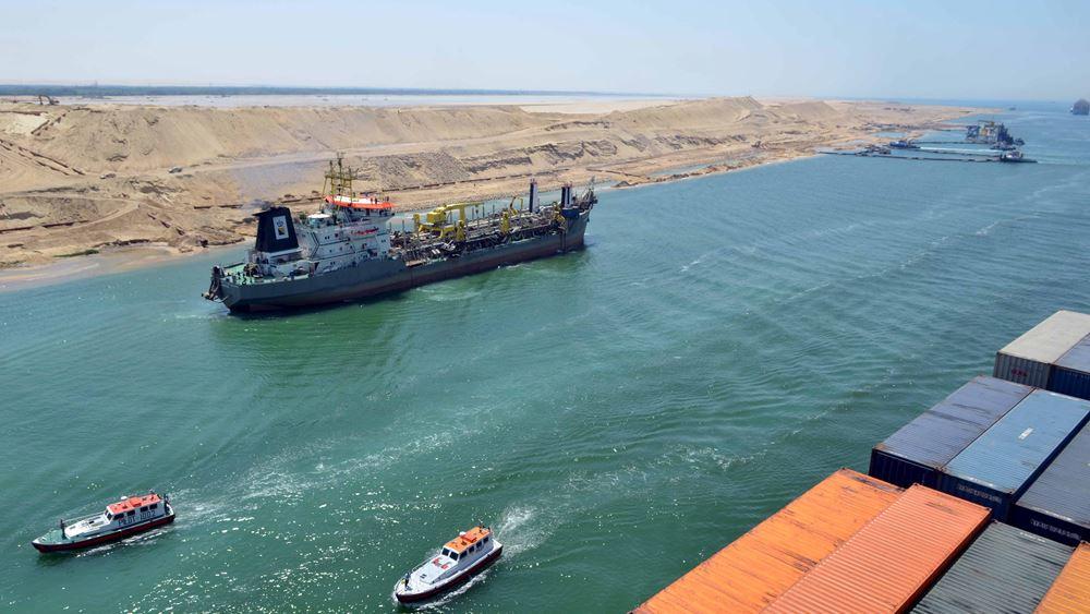 Διώρυγα του Σουέζ: Έως και 3,5 μέρες θα χρειαστούν για να λήξει η συσσώρευση πλοίων