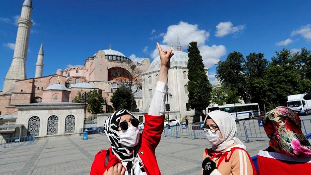 """Ο αρχι-ιμάμης της Αγια-Σοφιάς ζητά να αφαιρεθεί η """"κοσμικότητα"""" από το Σύνταγμα της Τουρκίας"""