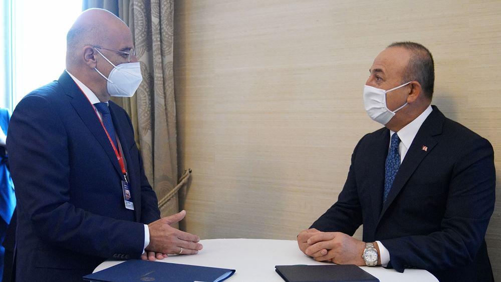 Τσαβούσογλου: Συμφωνήσαμε με την Ελλάδα σε μέτρα οικοδόμησης εμπιστοσύνης και διερευνητικές επαφές