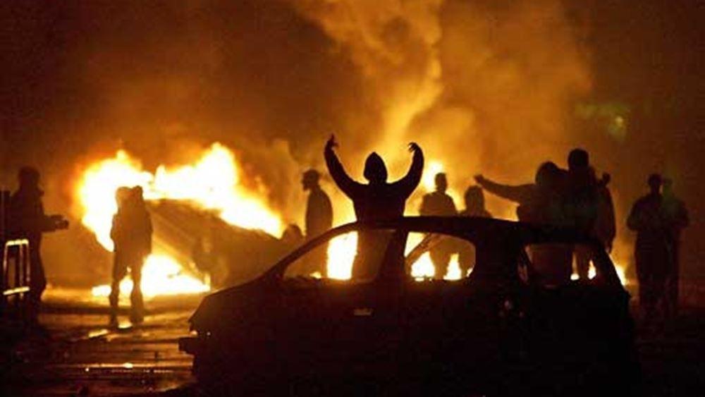 Γαλλία: Ντροπή στους αυτουργούς των βίαιων επεισοδίων λέει ο Μακρόν