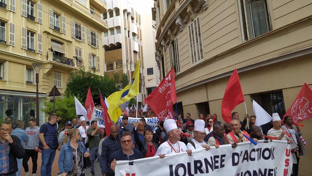 Το ΠΑΜΕ διαδήλωσε στο Μονακό