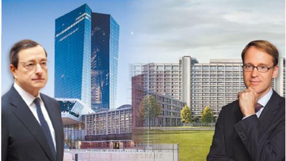 Weidmann: Η ΕΚΤ θα έπρεπε να είχε δηλώσει την πρόθεση για τερματισμό του QE