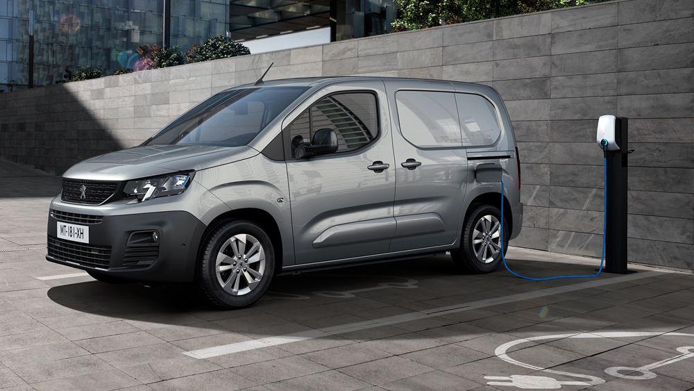 Η Peugeot παρουσιάζει το ηλεκτρικό e-Partner