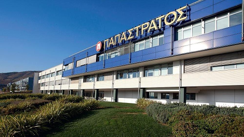Αυξήθηκαν 22% οι πωλήσεις της Παπαστράτος