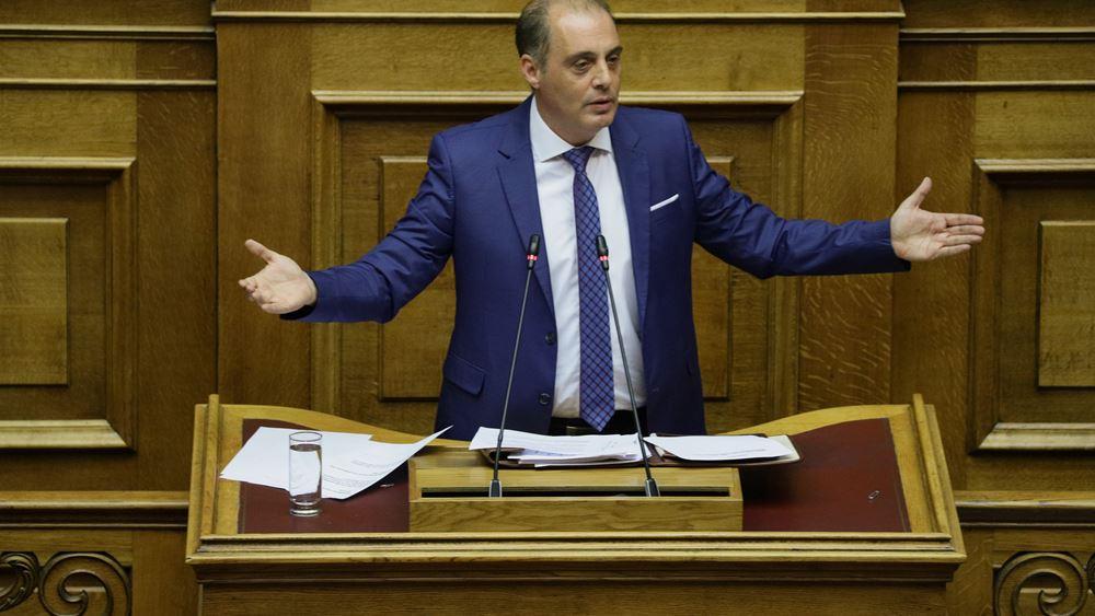 Στη Βουλή το θέμα του ΠΑΟΚ από Κ. Βελόπουλο- αυτοσυγκράτηση ζήτησε ο Γ. Γεωργαντάς