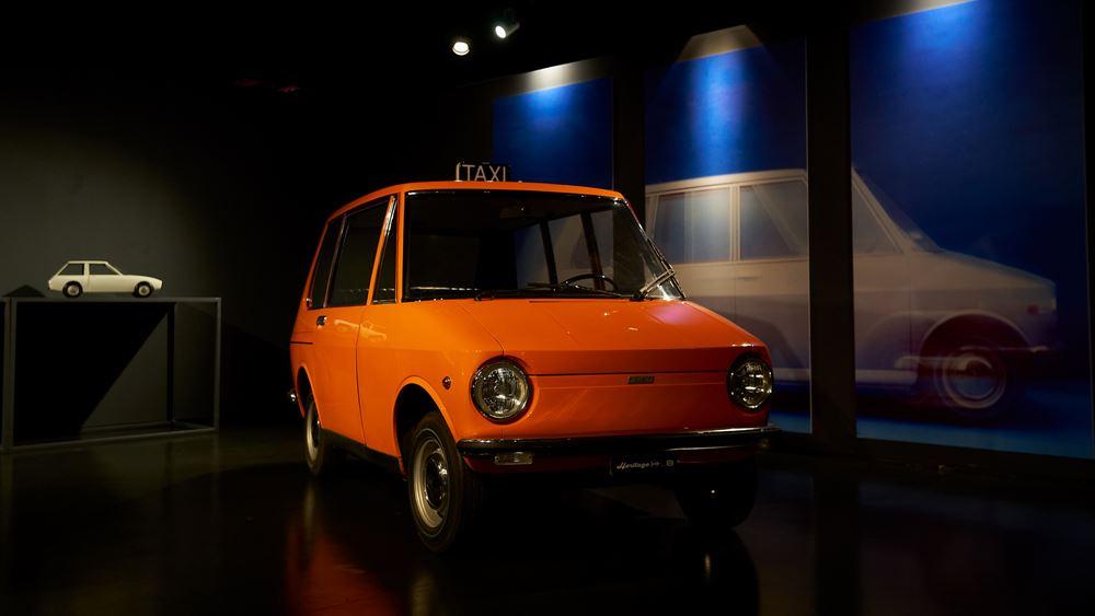 H Fiat, o ιδιοφυής σχεδιαστής και ένα περίεργο ταξί