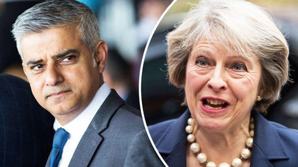 Ο δήμαρχος του Λονδίνου καλεί την Μέι να αναβάλει το Brexit