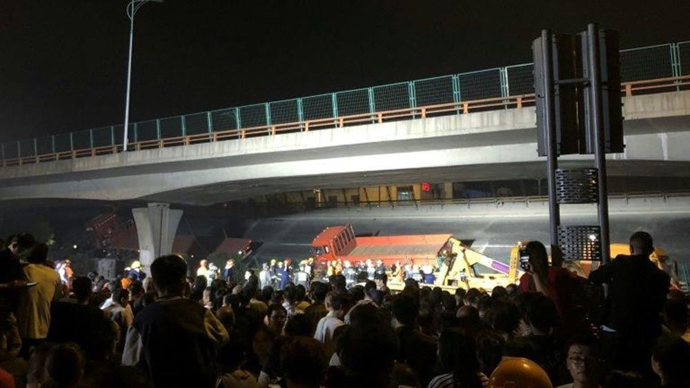 Κίνα: Τρεις νεκροί από κατάρρευση γέφυρας