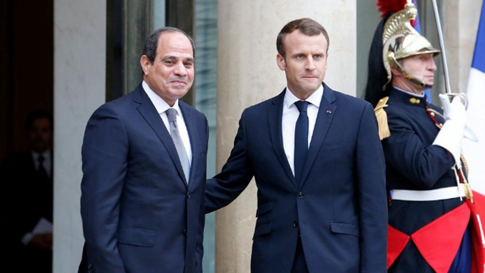 Για τις εξελίξεις στη Λιβύη συζήτησαν Μακρόν - Σίσι
