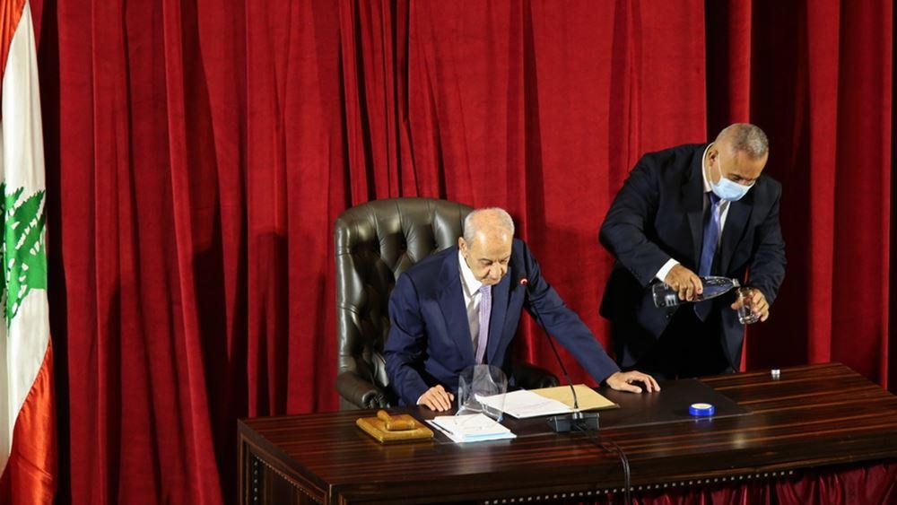 Λίβανος: Το Κοινοβούλιο δίνει ψήφο εμπιστοσύνης στη νέα κυβέρνηση