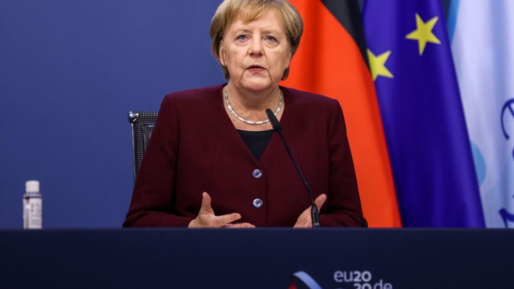 Μέρκελ: Ούτε μέρα παραπάνω απ' όσο είναι απαραίτητο δεν θα κρατήσει το λοκντάουν