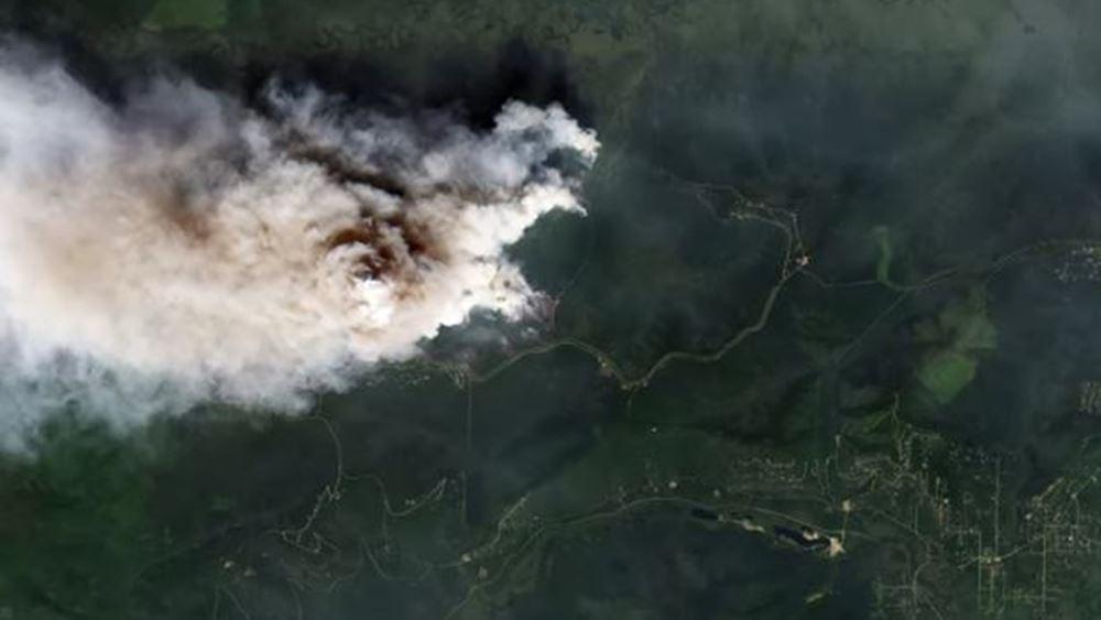 Ρωσία: 20 πτήσεις ημερησίως από τα κρατικά αεροσκάφη για την κατάσβεση των πυρκαγιών στην Σιβηρία