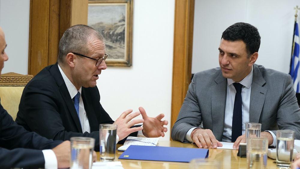 Συνάντηση Β. Κικίλια με τον Περιφερειακό Διευθυντή του ΠΟΥ για την Ευρώπη