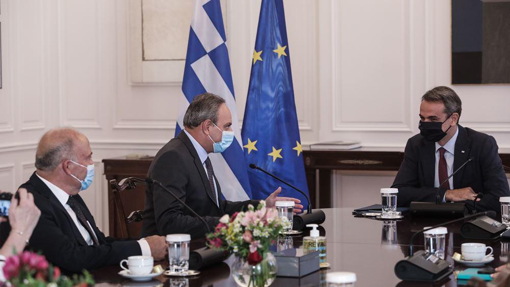 Μητσοτάκης: Μοναδικό αποδεκτό πλαίσιο διαπραγμάτευσης για το Κυπριακό οι αποφάσεις του Συμβουλίου Ασφαλείας