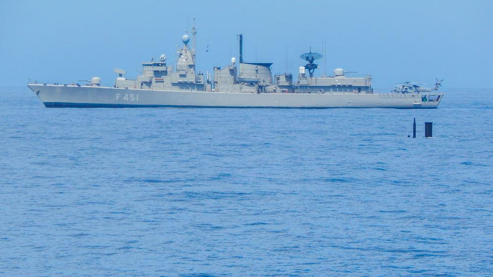 Ελληνογαλλική ναυτική άσκηση στην ανατολική Μεσόγειο - Ο χάρτης των κινήσεων