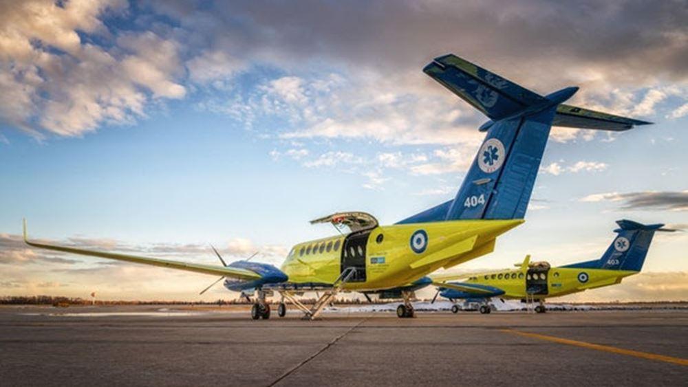 Το Ίδρυμα Σταύρος Νιάρχος δώρισε δύο νέα αεροσκάφη στο ΕΚΑΒ αξίας 16 εκατ. ευρώ