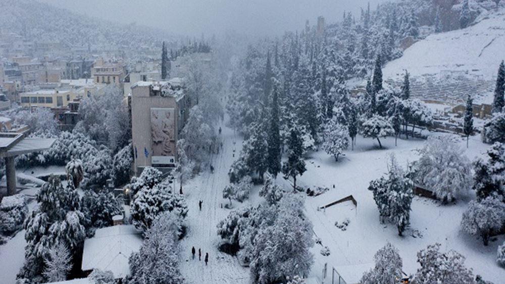 Σε εξέλιξη κύμα κακοκαιρίας, που θα φέρει την Πέμπτη χιονοπτώσεις σε περιοχές της Βόρειας Ελλάδας