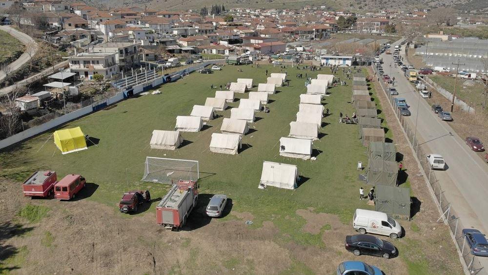 Συνδρομή Ενόπλων Δυνάμεων στις σεισμόπληκτες περιοχές της Θεσσαλίας
