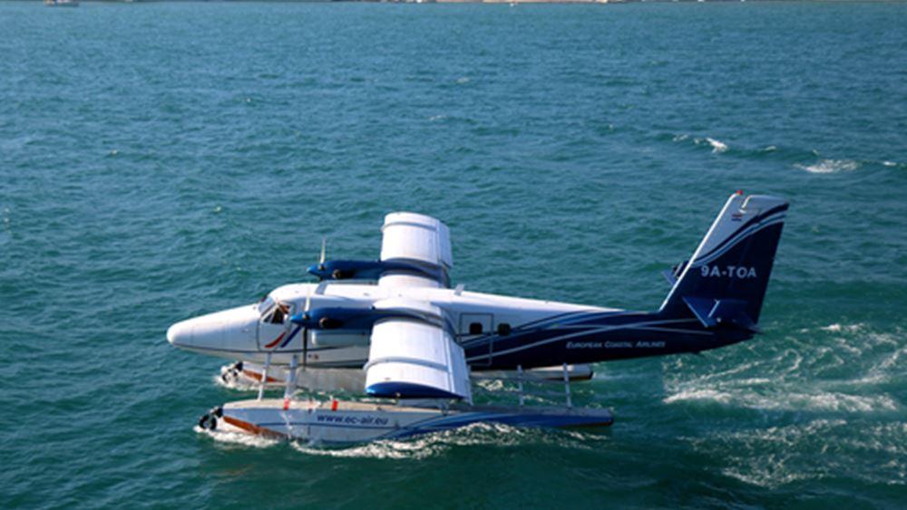 Δύσκολο στοίχημα οι πτήσεις με υδροπλάνα το επόμενο καλοκαίρι