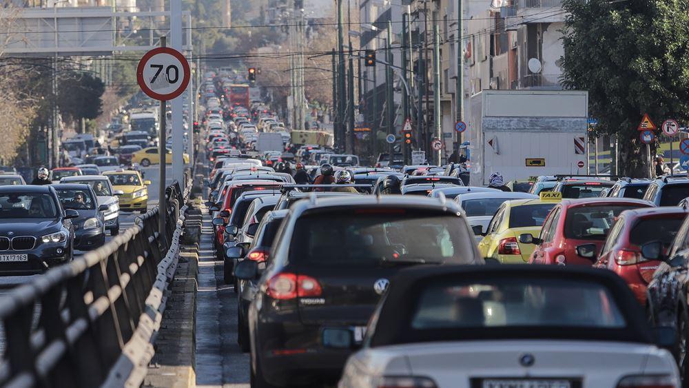 Περιφέρεια Αττικής: Αυξημένη κατά 89% η κυκλοφορία των οχημάτων τη Μ. Εβδομάδα