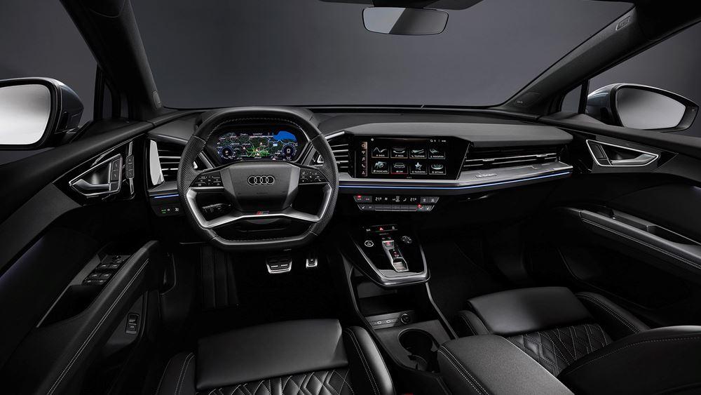 Το φουτουριστικό εσωτερικό του νέου Audi Q4 e-tron