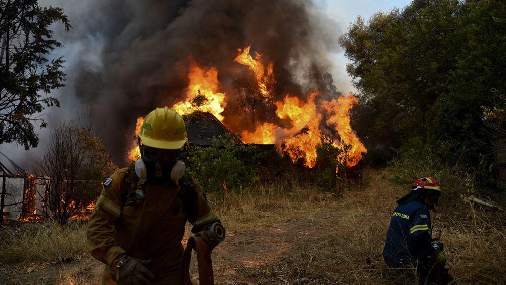 Δύο πρόεδροι τοπικών κοινοτήτων του δήμου Αιγιαλείας μιλούν για την φωτιά