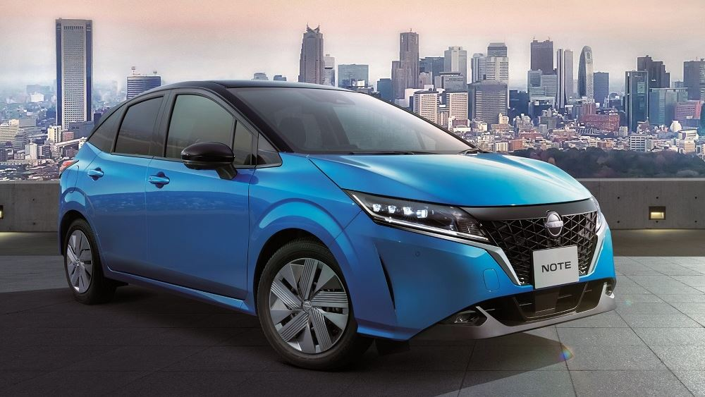 Η Nissan λανσάρει το νέο Note στην Ιαπωνία
