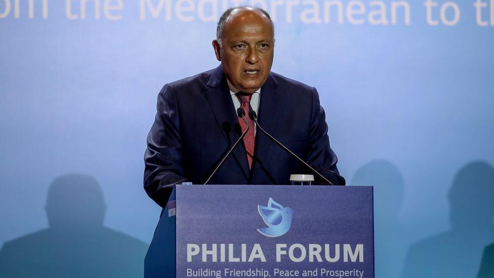 ΥΠΕΞ Αιγύπτου: Εμβάθυνση της συνεργασίας για σταθερότητα στην περιοχή με βάση το διεθνές δίκαιο