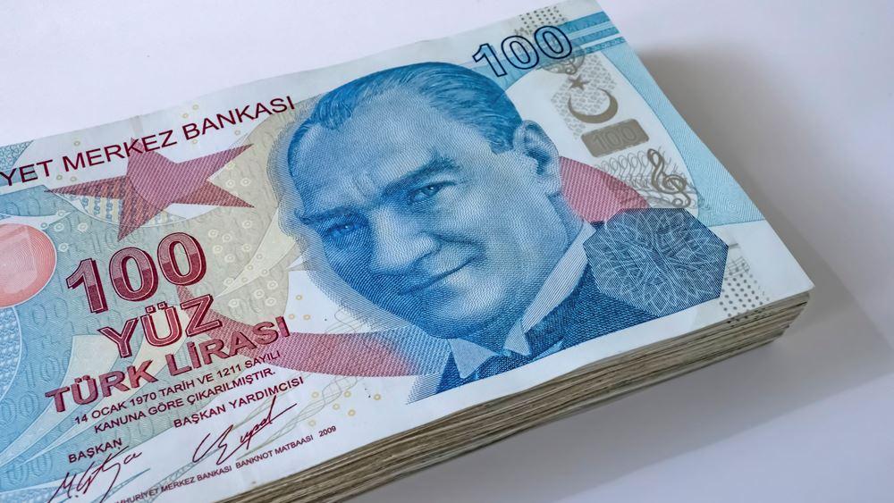 Αυξήθηκε κατά 4,5% το βραχυπρόθεσμο εξωτερικό χρέος της Τουρκίας - Στα 144,7 δισ. δολάρια