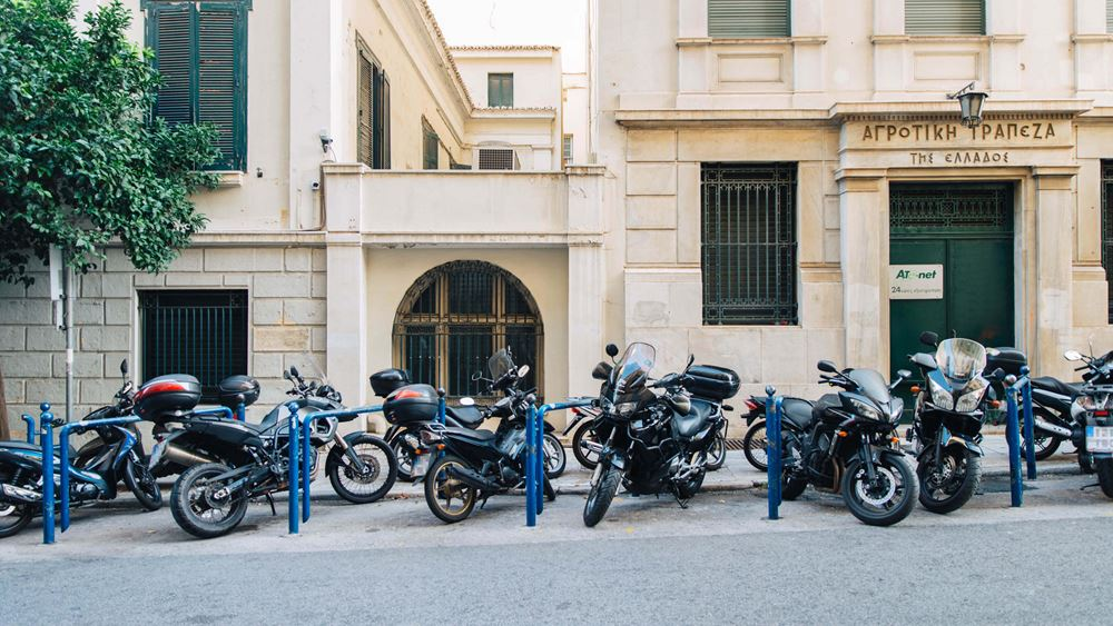 Άλλες 1.180 νέες θέσεις στάθμευσης δικύκλων στην Αθήνα διαμορφώνει ο Δήμος