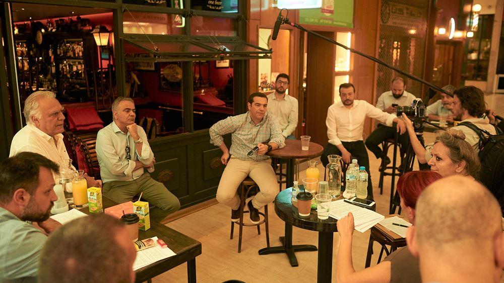 Τι συζήτησε ο Αλ. Τσίπρας με επιχειρηματίες της εστίασης