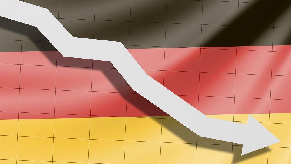 Γερμανια πτωση οικονομια