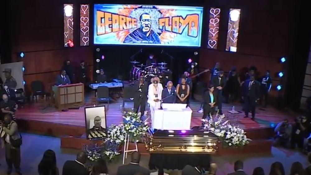 HΠΑ: Συγκινητικές στιγμές στην εκδήλωση μνήμης για τον Τζορτζ Φλόιντ