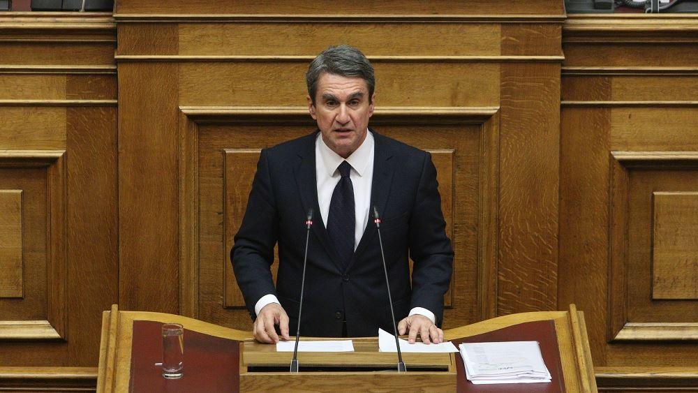 Λοβέρδος: Εμφαντική και ανεπιφύλακτη η άρνησή μας να ψηφίσουμε τη Συμφωνία των Πρεσπών