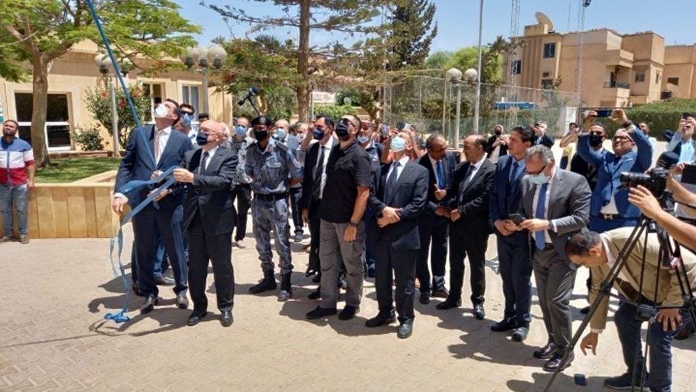 Λιβύη: Εγκαινιάστηκε το ελληνικό προξενείο στη Βεγγάζη