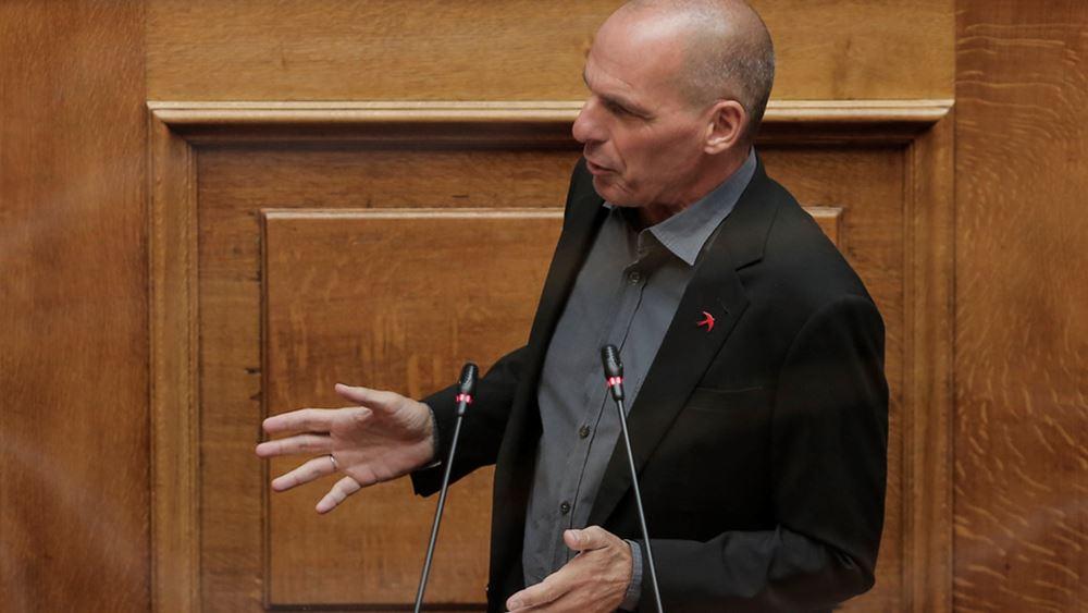Γ. Βαρουφάκης: Όχι στην Συμφωνία που καταρρακώνει την εθνική άμυνα και ανεξαρτησία