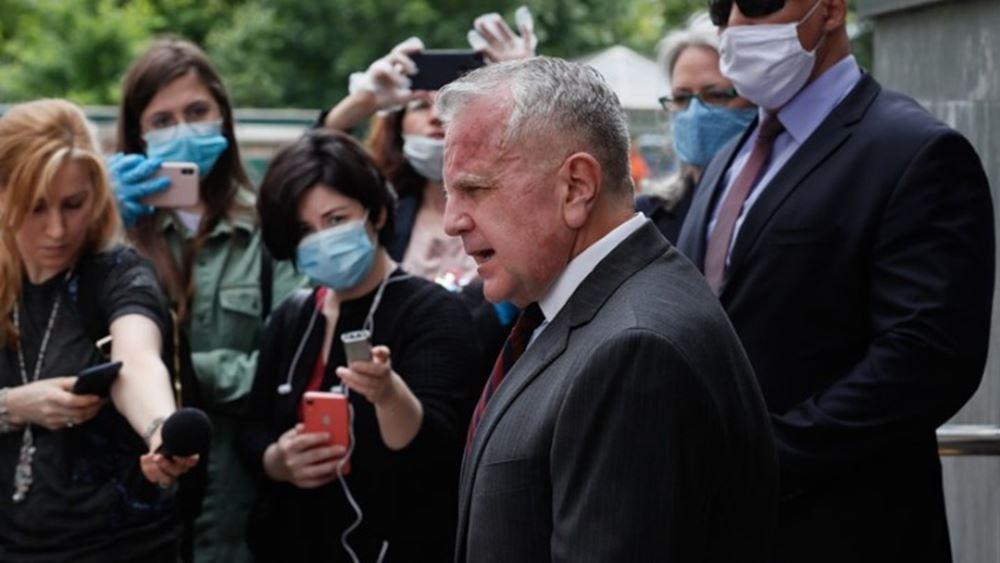Ο Αμερικανός πρέσβης στηΜόσχα επιστρέφει στην Ουάσινγκτον για διαβουλεύσεις