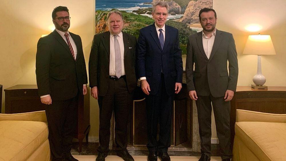 Συνάντηση ΣΥΡΙΖΑ - Πάιατ (και) για νομοσχέδιο αμερικανικών βάσεων