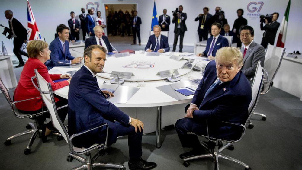 Ολοκληρώνεται η σύνοδος της G7 με συνομιλίες για την κλιματική αλλαγή και την ψηφιακή οικονομία