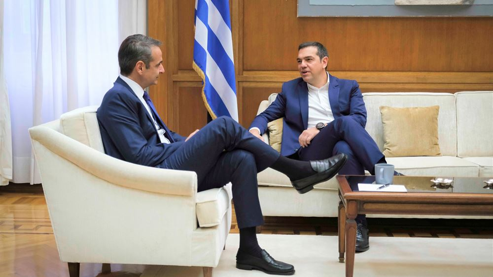 Ολοκληρώθηκαν οι συναντήσεις του πρωθυπουργού με Τσίπρα και Γεννηματά (upd)